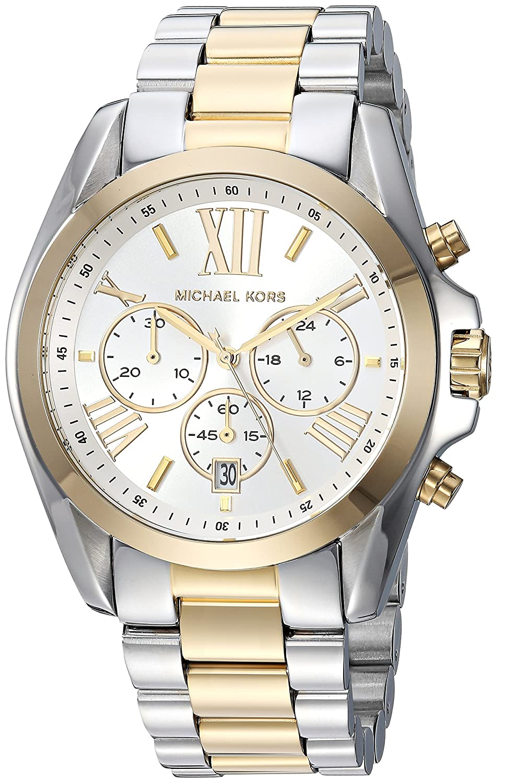 Amazon.com: Michael Kors Womens MK5627 Bradshaw Gold/Silver Watch: Michael Kors: Watches