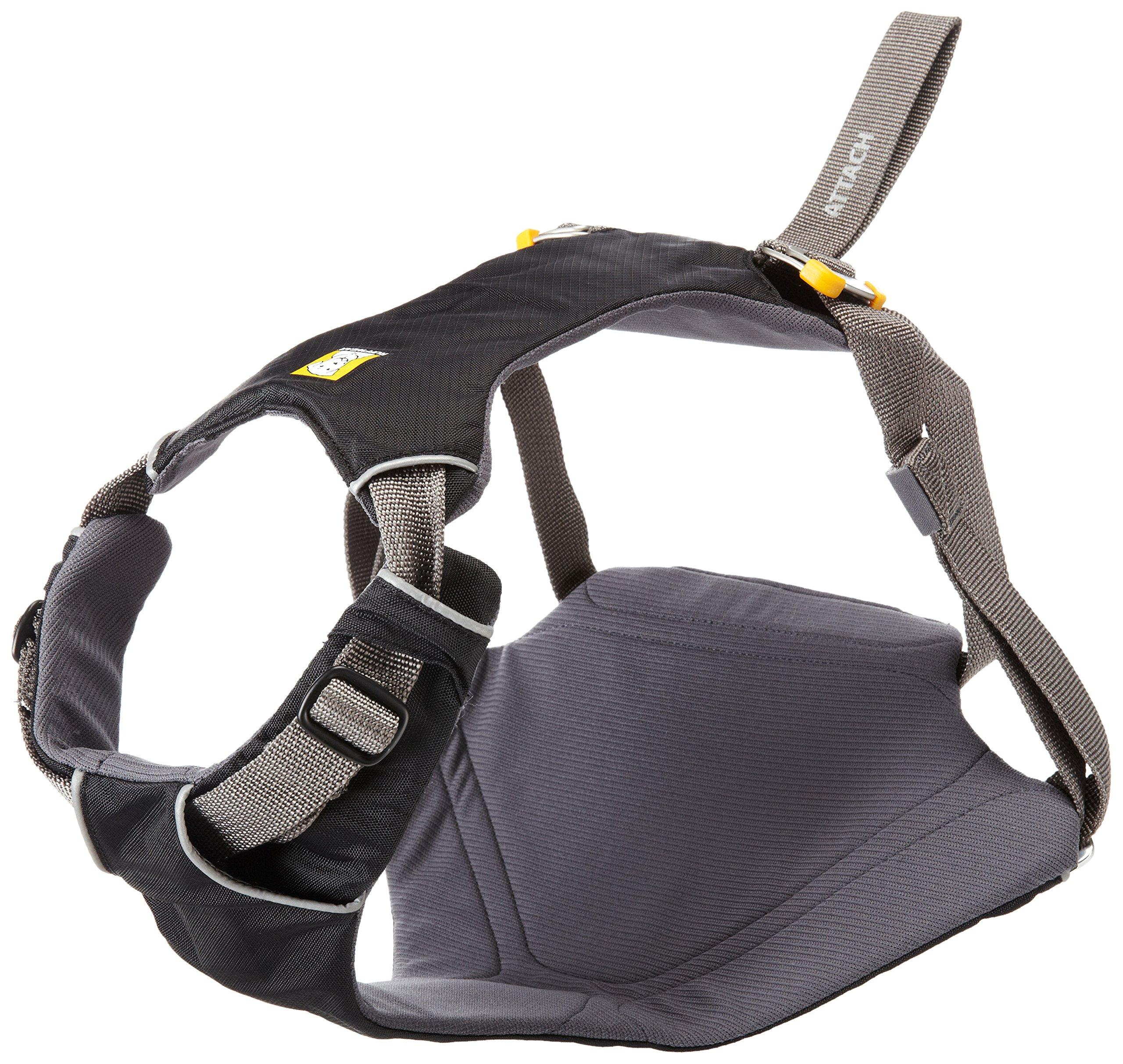 Ruffwear - Load Up Vehicle Restraint Harness for Dogs, Obsidian Black, Medium
