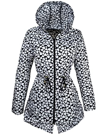 ccd35a609d60f new Ladies plus size RAIN MAC NEW Womens PARKA FISHTAIL Festival RAINCOAT  Size 8 10 12