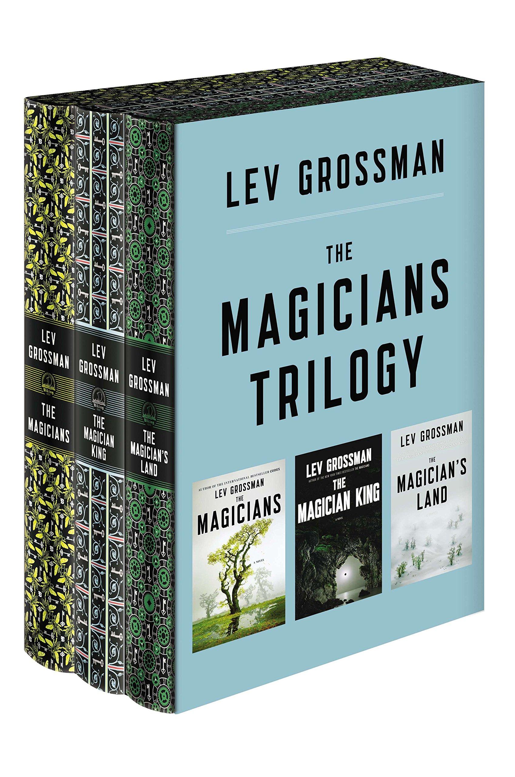 The Magicians Trilogy Boxed Set: The Magicians; The Magician King; The Magician's Land by Viking Pr