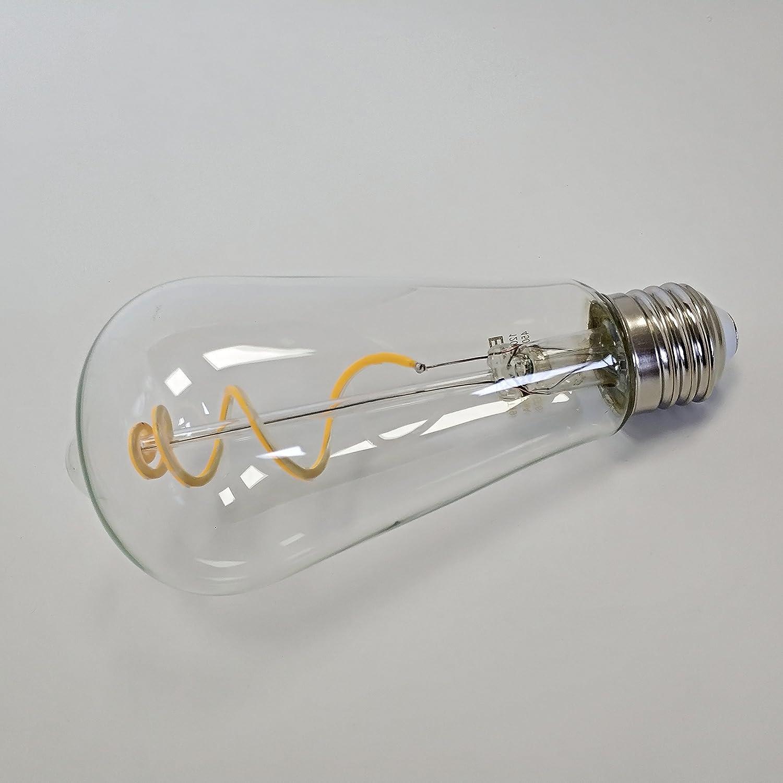 ST19//ST64 Vintage Edison LED Bulb 12 Pack BORT Dimmable 4.5W 450LM Warm White 2700K Clear Glass E26 Base BESTU CO 50W Equivalent LTD Antique Flexible LED Filament Light Bulb