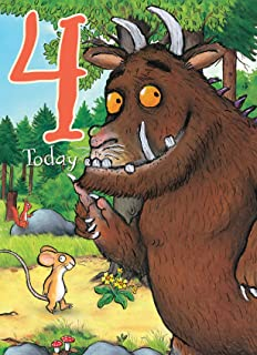 The Gruffalo Gr008 3rd Birthday Card Amazon Co Uk Office Products