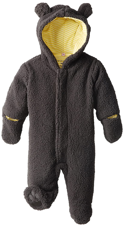 Magnificent Baby Unisex-Baby Newborn Ash Lemon Fleece Bear Pram