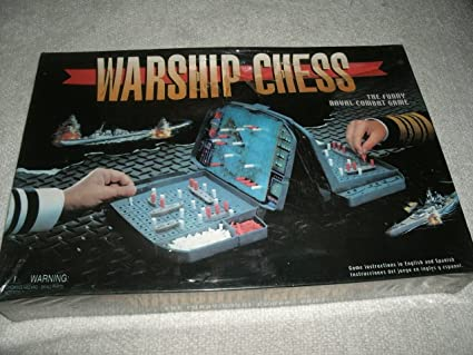 Amazon com: Warship Chess The Funny Classic Naval Combat Game: Toys