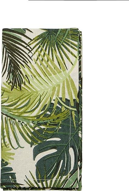 3dRose Green Four Leaf Clover Illustration Towel 15 x 22