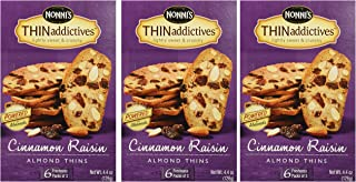 product image for Nonni's Thin Addictives Cinnamon Raisin Almond Thins 6 pkgs ( 3 Pack)
