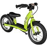 BIKESTAR® Premium 30.5cm (12 pulgadas) Bicicleta sin pedales para los exploradores mas valientes a partir de 3 años ★ Edición Clásica ★ Verde