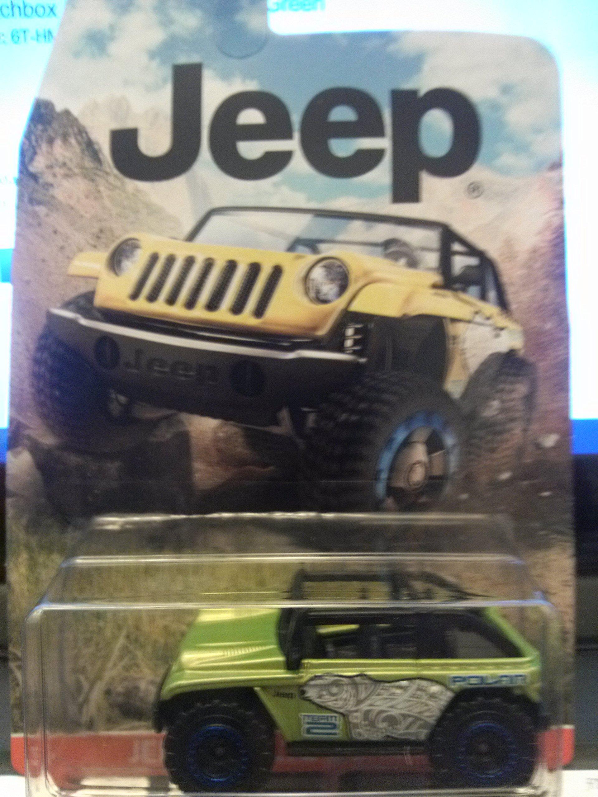 Matchbox Jeep Willys Concept Green
