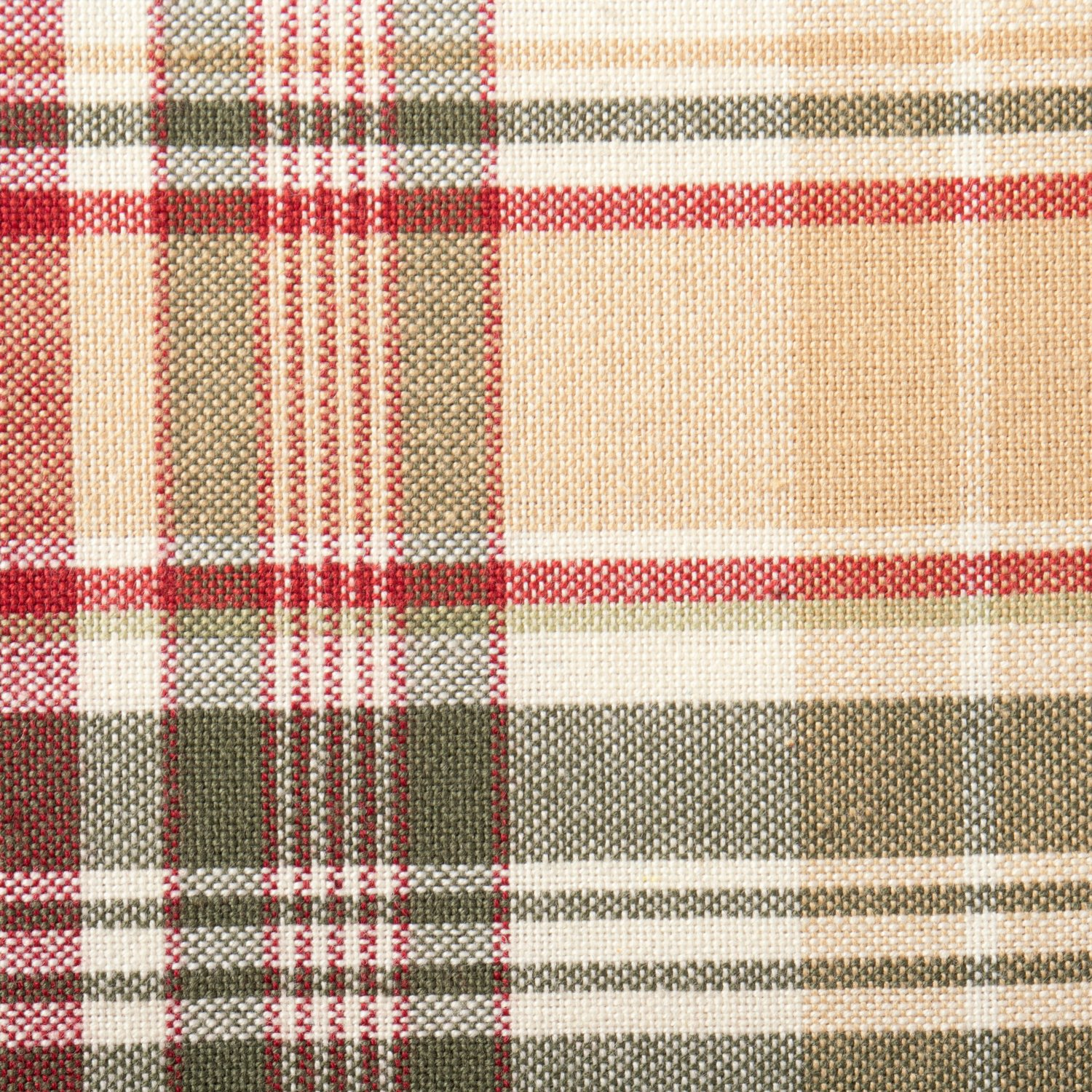 Cabin Plaid 100% Cotton Table Runner (14x108'') by DII (Image #2)