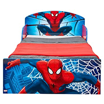 Marvel Spider Man Kids Toddler Bed By HelloHome