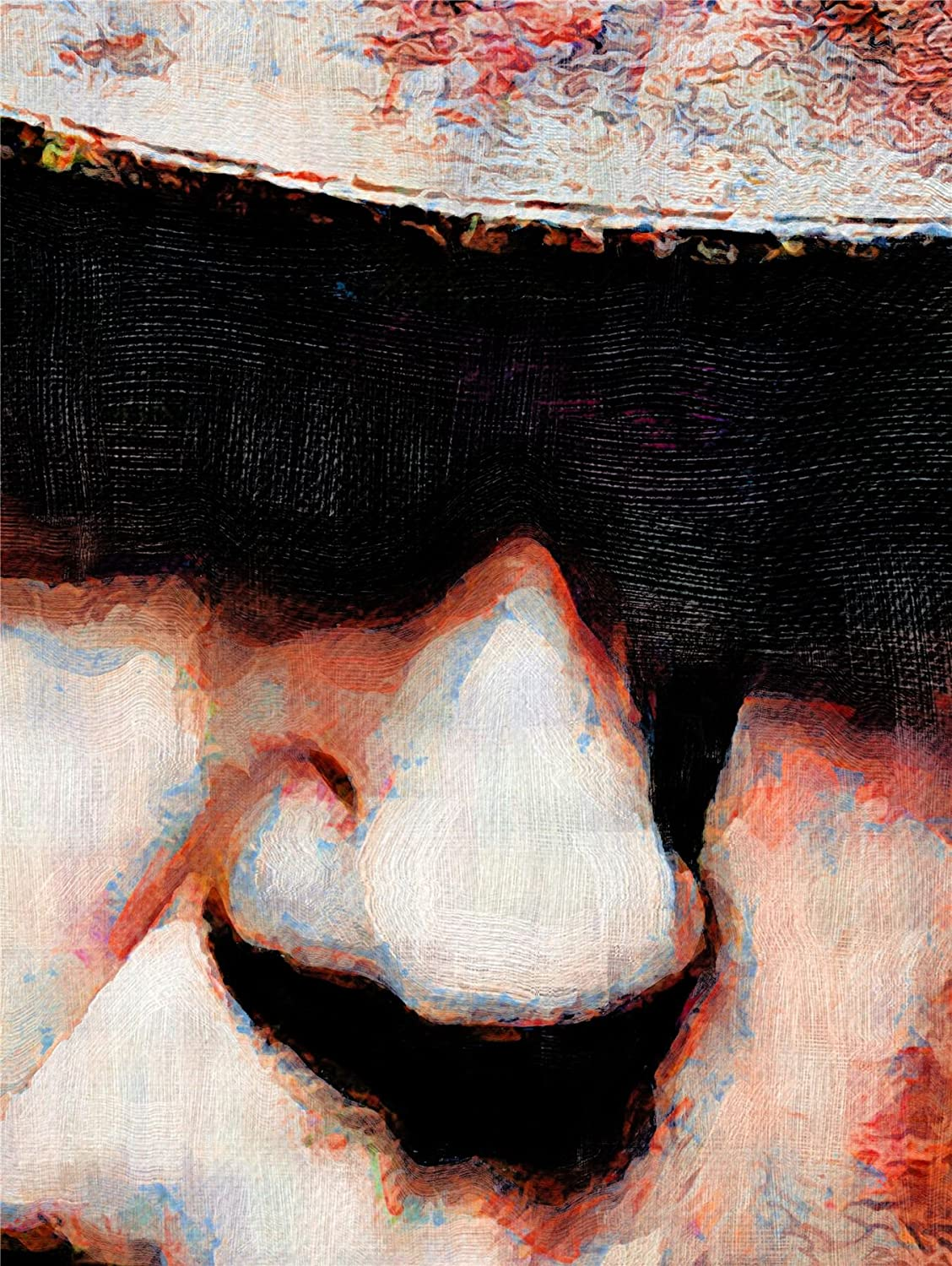 NEIL YOUNG CANADIAN ART PRINT POSTER OIL PAINTING LFF0134