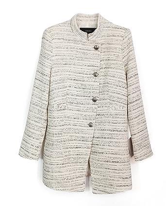 20ee95c24d Zara Women Textured Tweed Frock Coat 2223/692 - Orange - XX-Large ...