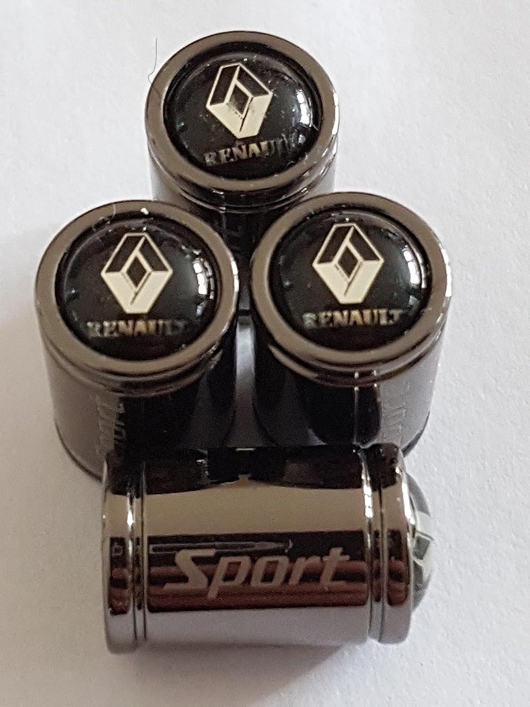 Bouchons de protection Premium RENAULT Sport titane alliage Deluxe Capuchon de valve Speed Demons ®