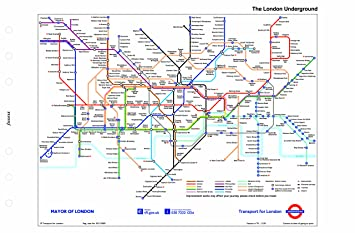 Filofax Personal London Underground Map Amazoncouk Office Products