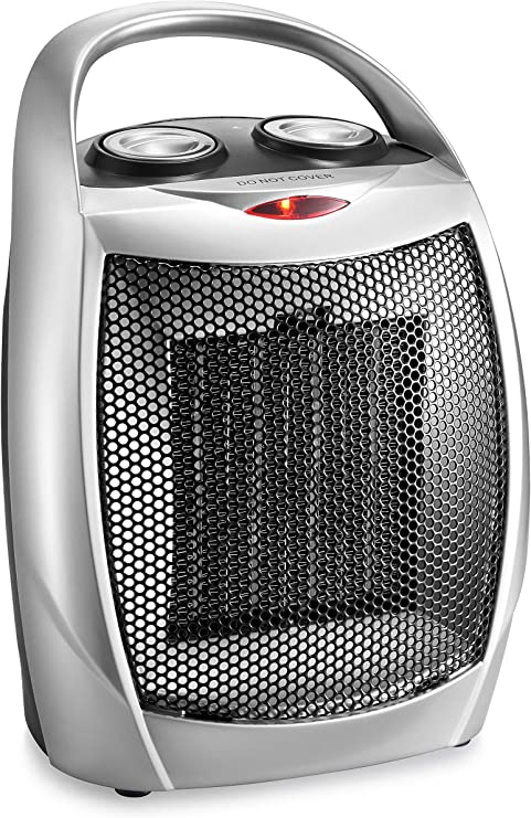 Amazon Com Home Choice Small Ceramic Space Heater Electric