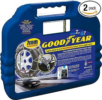 TireChain.com P195//60R15 P195//60 15 TUV Diamond Tire Chains Set of 2