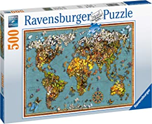 Ravensburger 15043 World of Butterflies 500 Piece Jigsaw Puzzle for Adults & for Kids Age 10 and Up