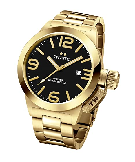 f6e3bdcbede TW Steel Canteen Black Dial Mens Watch CB92  Amazon.ca  Watches