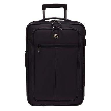 Traveler s Choice Sienna Hybrid Carry-On Rolling Garment Bag - Black (21- Inch d7da600884197