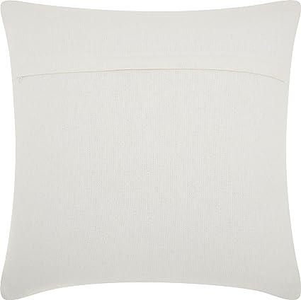 Amazon Com Nourison Mina Victory Dc449 Life Styles Woven Ombre Throw Pillow 20 X 20 Grey White Home Kitchen