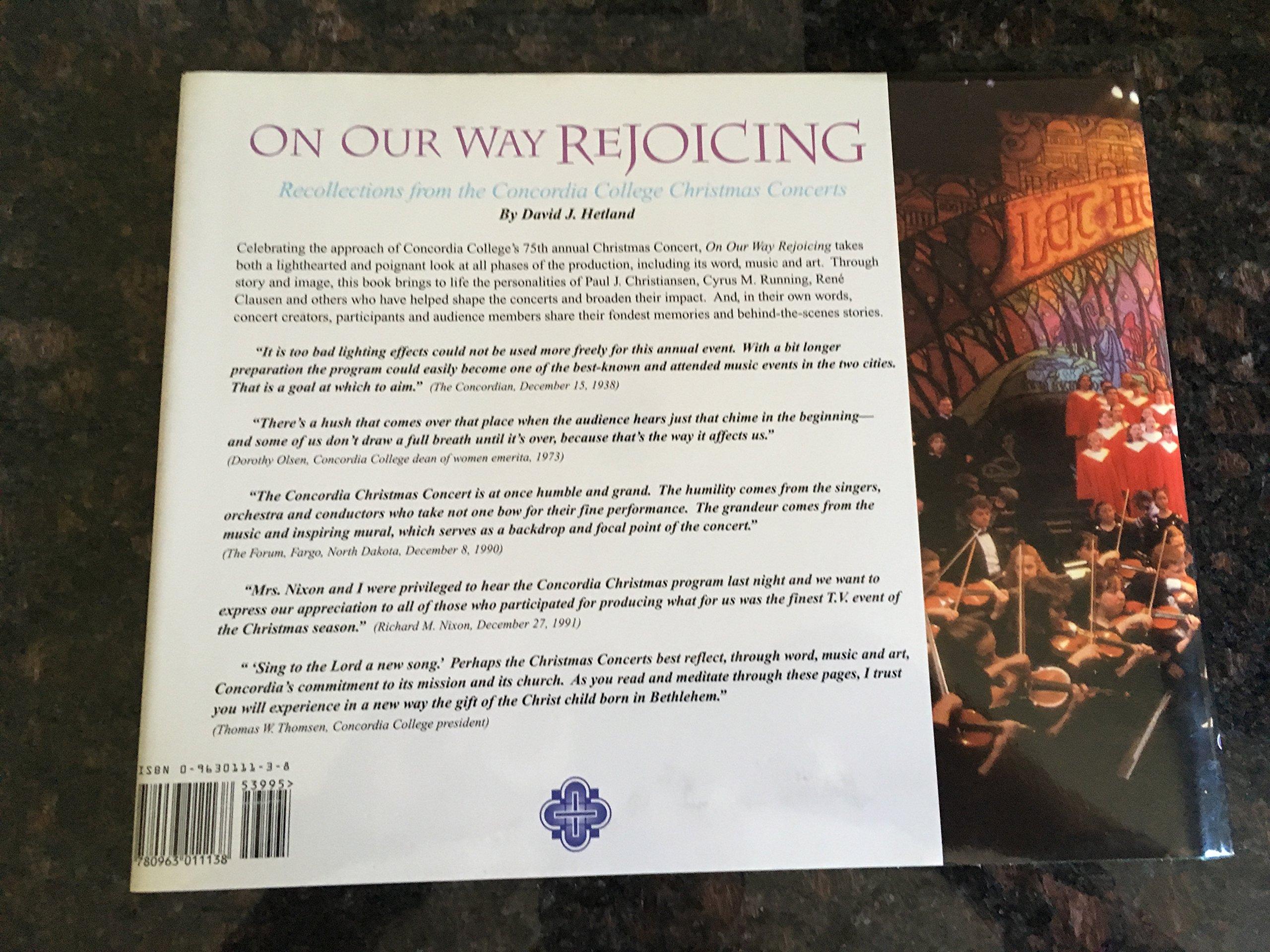 On Your Way Rejoicing: David Hetland: 9780963011138: Amazon.com: Books