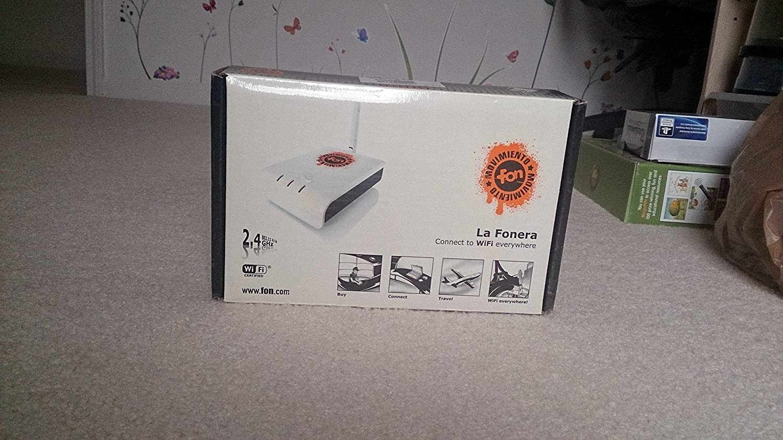 FON FON2201B La Fonera Wireless 802 11b/g WiFi Router: Amazon co uk