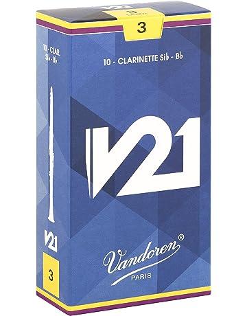 Vandoren V21 - Caja de 10 cãnas para clarinete, fuerza 3