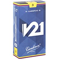 Vandoren CR803 Bb Clarinet V21 Reeds Strength 3; Box of 10