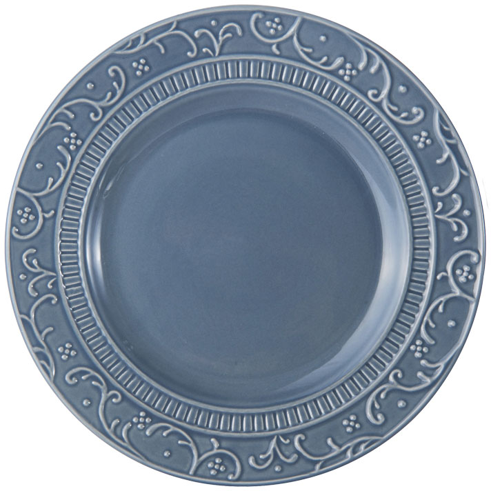 Italian Countryside Accents Scroll Blue Salad Plate online at Mikasa.com