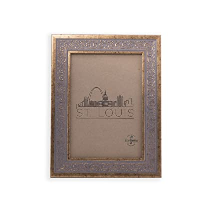 Amazon.com - 8x10 Picture Frame Ornate Antique Gold - Mount Desktop ...