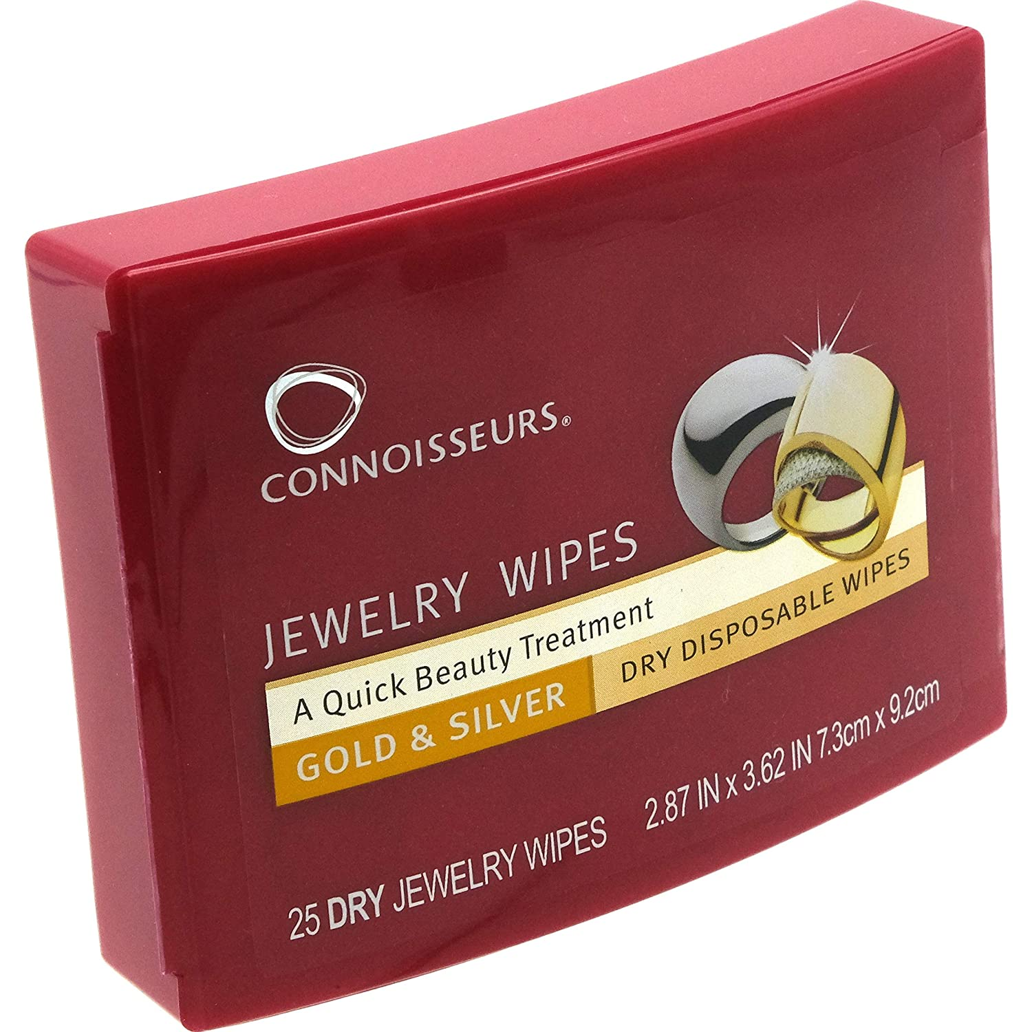 Connoisseurs Jewellery Wipes 25s RK-6J8R-ZLRO