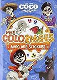 COCO - Mes coloriages avec stickers