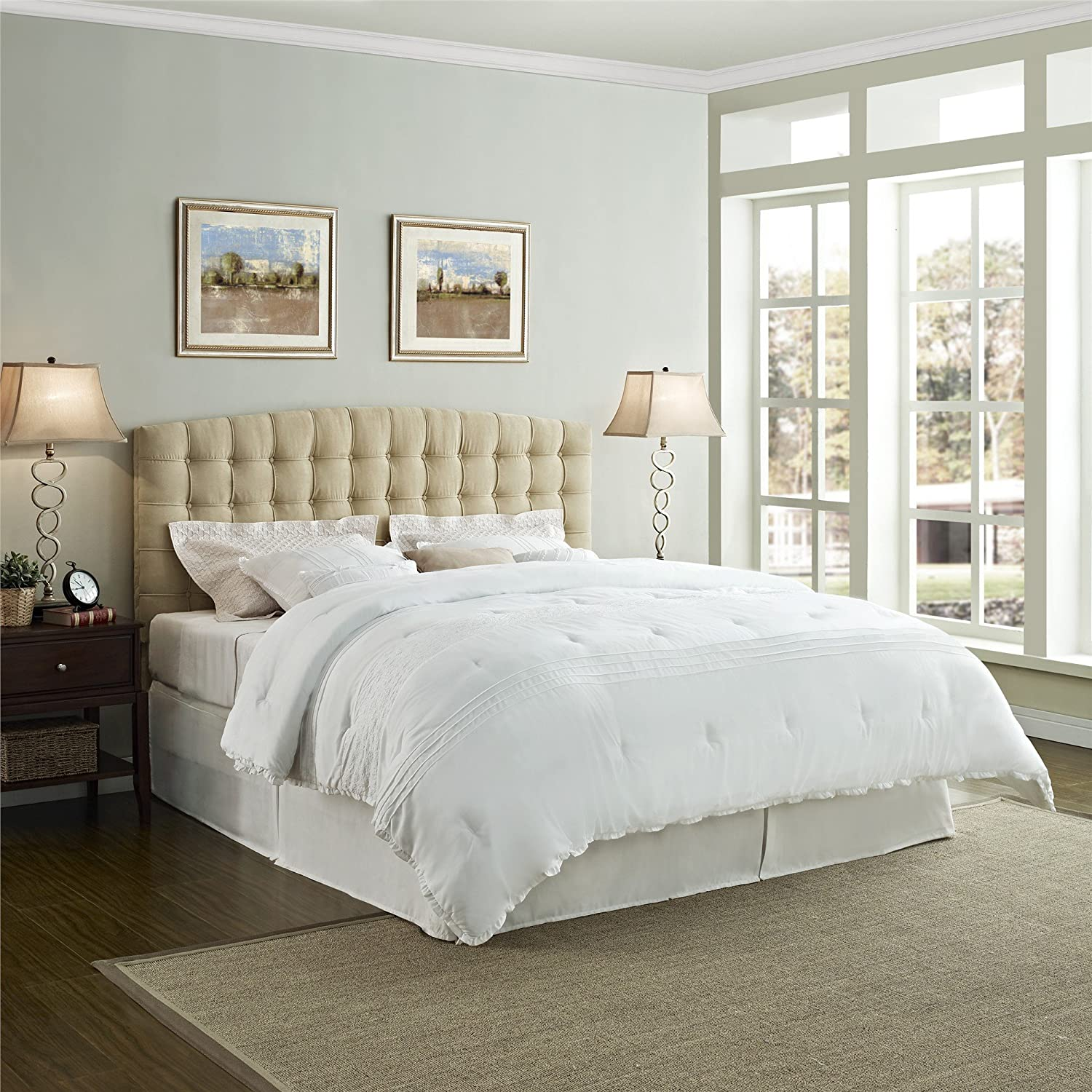 concept your residence studio in upholstered headboard with modern extravagant white madison bed size padded king to bathroom applied baxton