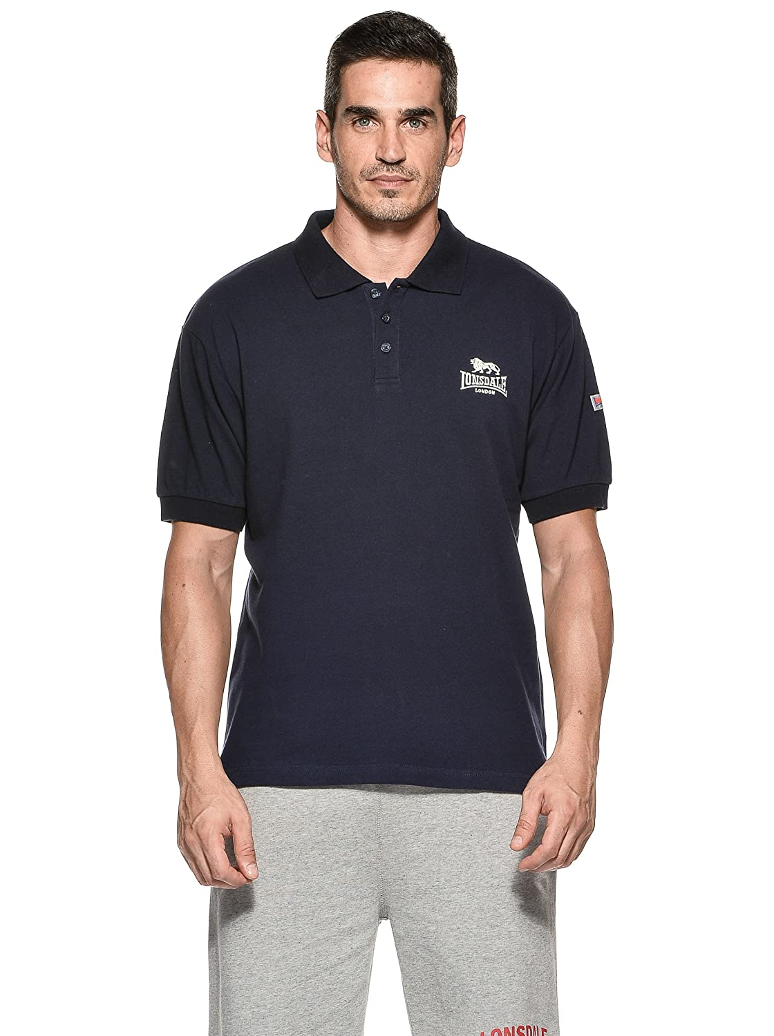 Lonsdale Polo Acton Azul S (UK XS): Amazon.es: Ropa y accesorios