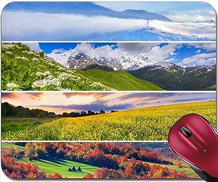 Liili Mousepad ID: 21625986 Set of the 4 seasons landscape for banners - Amazon.com : Liili Mousepad ID: 21625986 Set Of The 4 Seasons