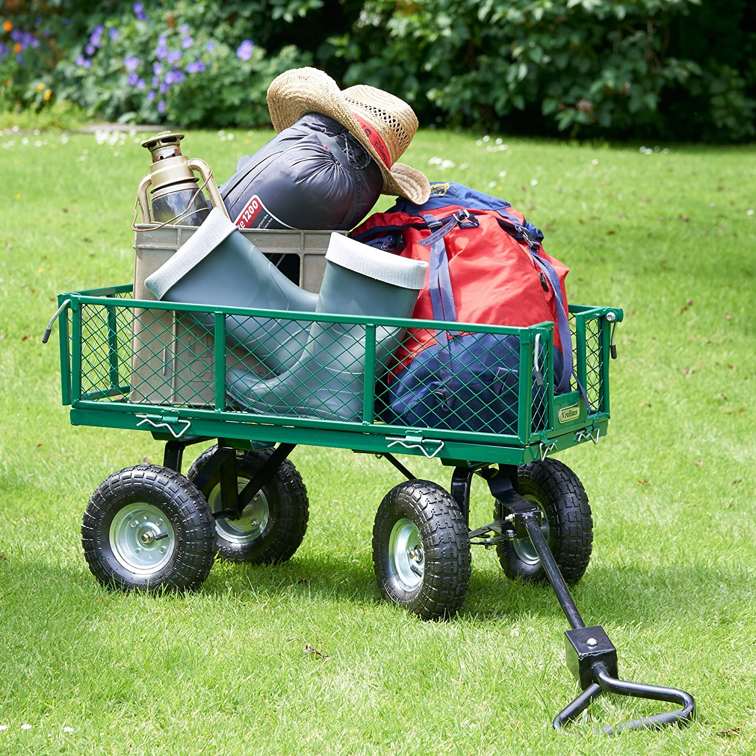 youtube garden homemade wagon cart watch diy