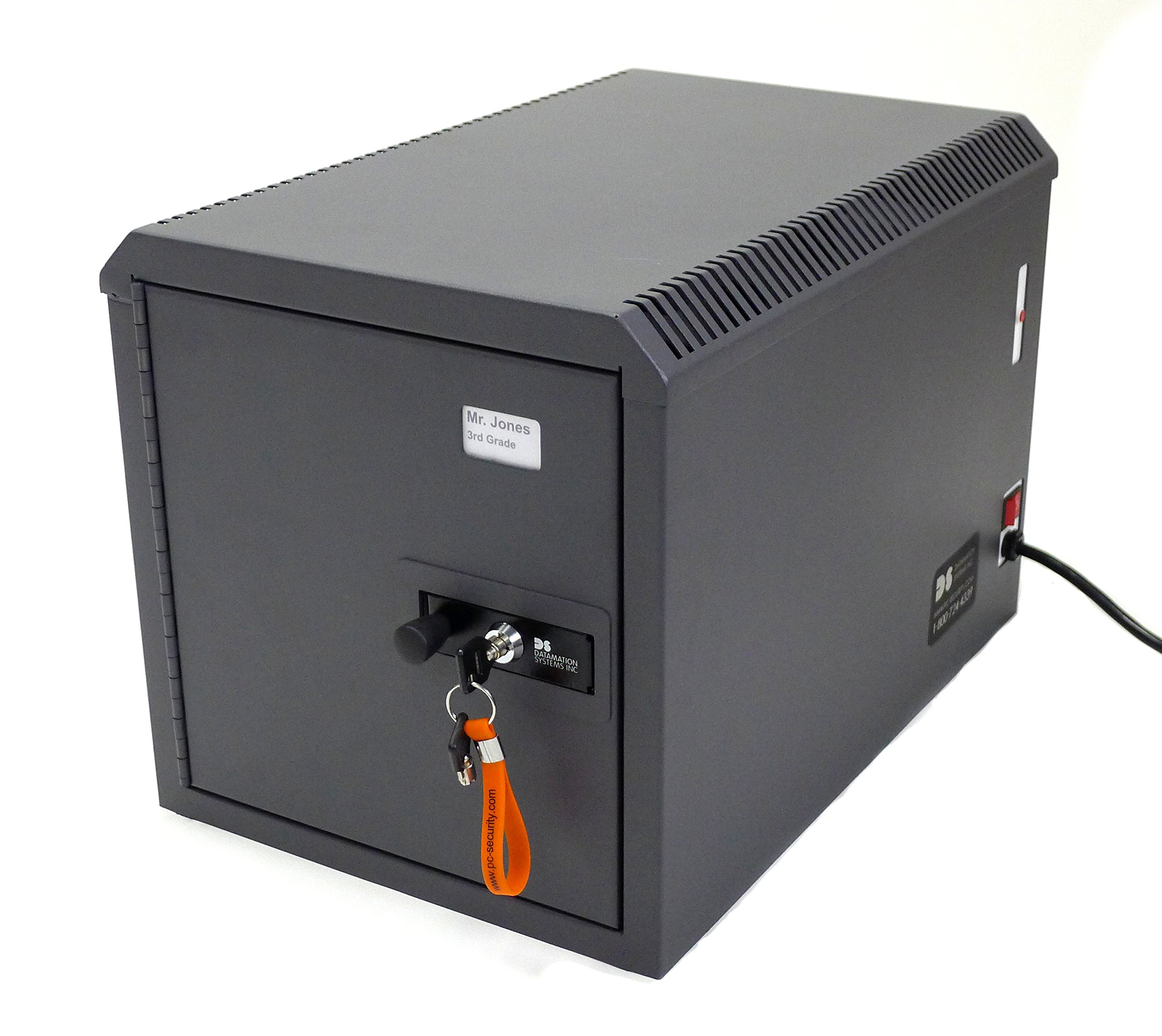 DS-Netsafe-C-8 Security Safe Charges and Secures 8 iPads or Tablets
