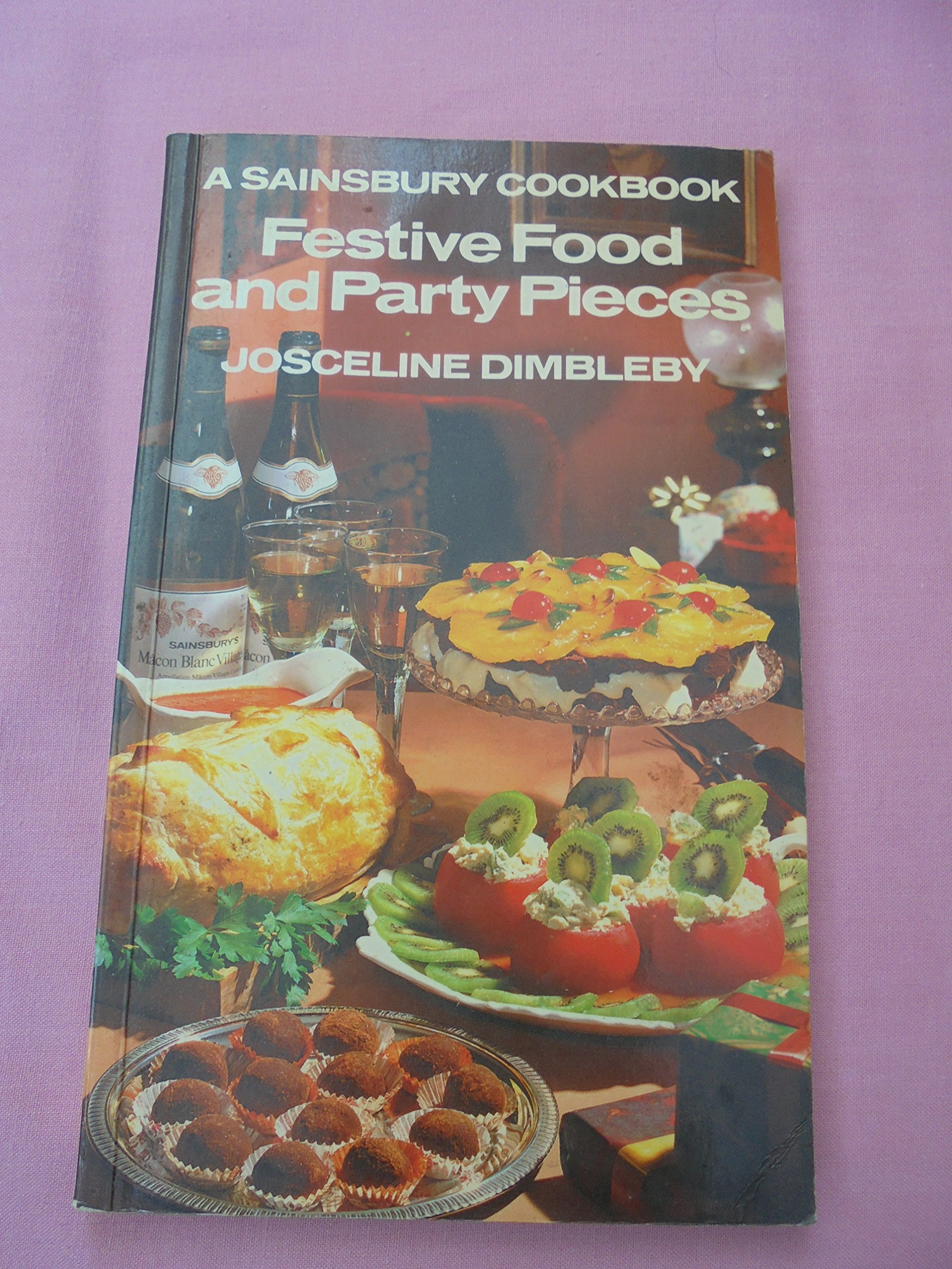 Festive Food And Party Pieces A Sainsbury Cookbook Amazon