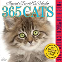 365 Cats Color Page-A-Day Calendar 2016