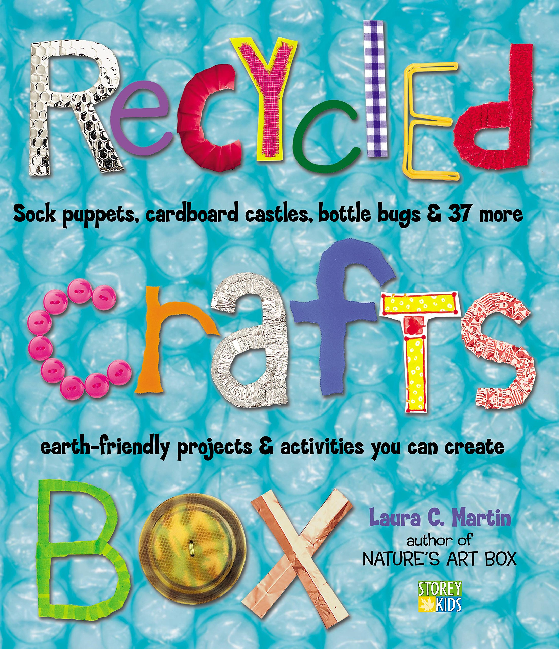 Recycled crafts box laura c martin 0037038175226 amazon books thecheapjerseys Choice Image