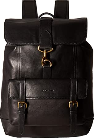 0ff44175a0 COACH Men s Bleecker Backpack Ol Black One Size