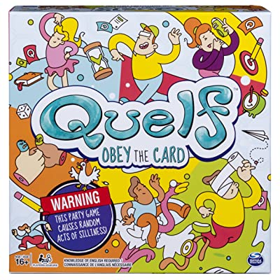 Spin Master Games Quelf - Party Game for Teens and Adults: Toys & Games