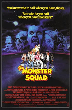The Monster Squad 1987 Movie Poster 24×36 inches