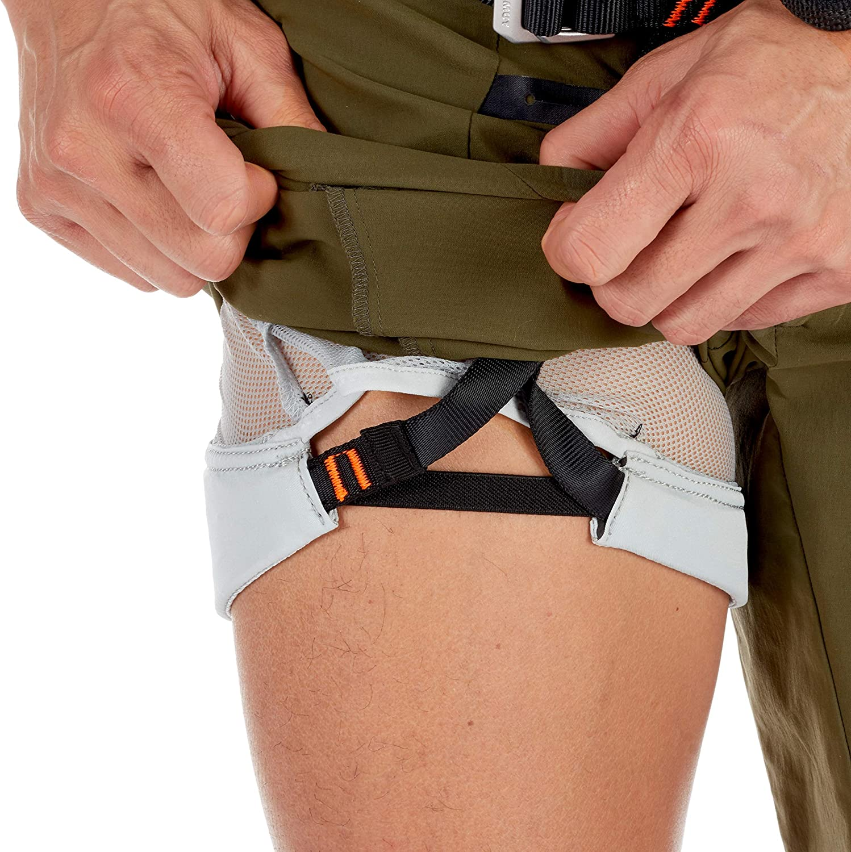 Mammut Herren Realization 2.0 Shorts mit integriertem Klettergurt