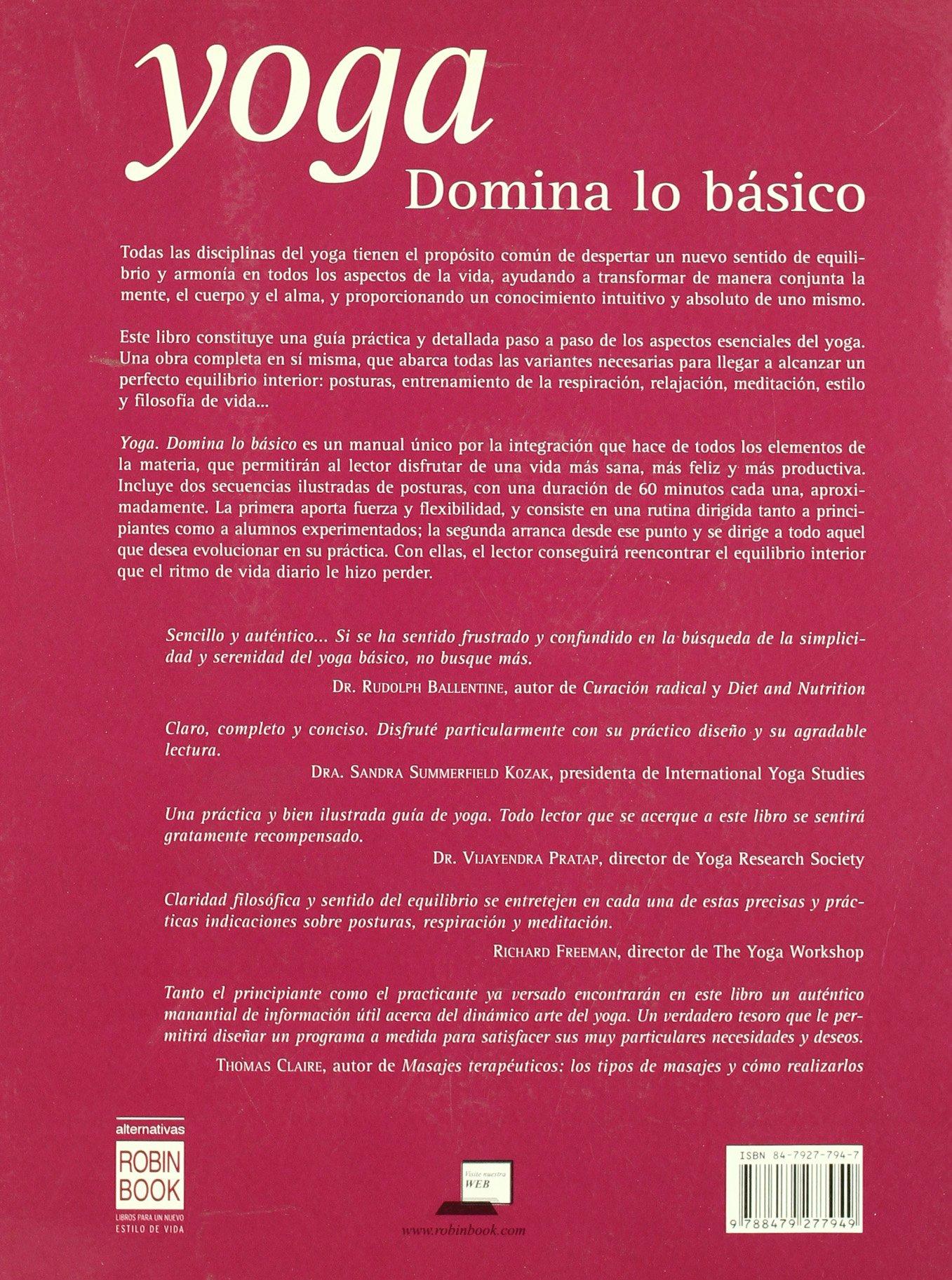 Yoga/ Yoga: Domina Lo Basico/ Dominating the Basic Thing ...