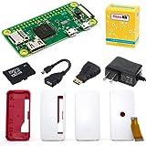 CanaKit Raspberry Pi Zero W (Wireless) Starter Kit with Official Case