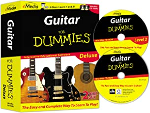 Guitar For Dummies Deluxe 2-CD-ROM Set
