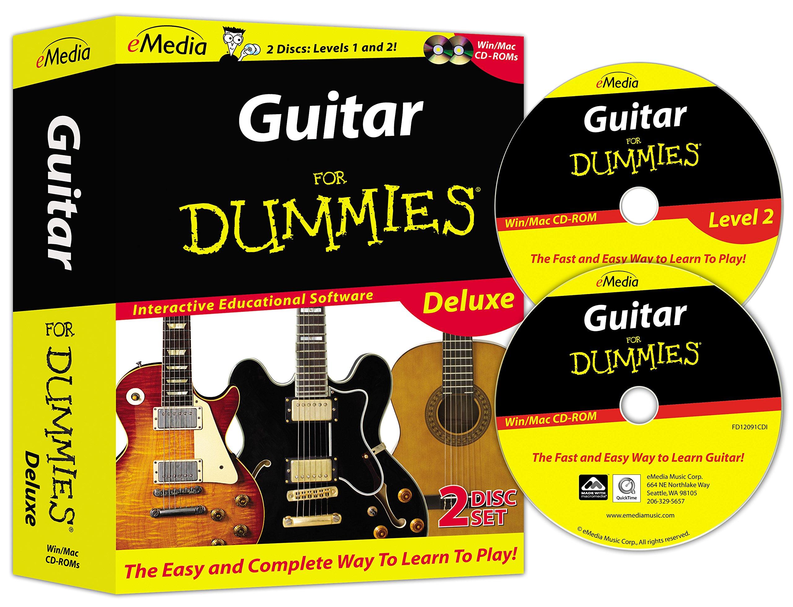 eMedia Guitar For Dummies Deluxe (2 volume set)