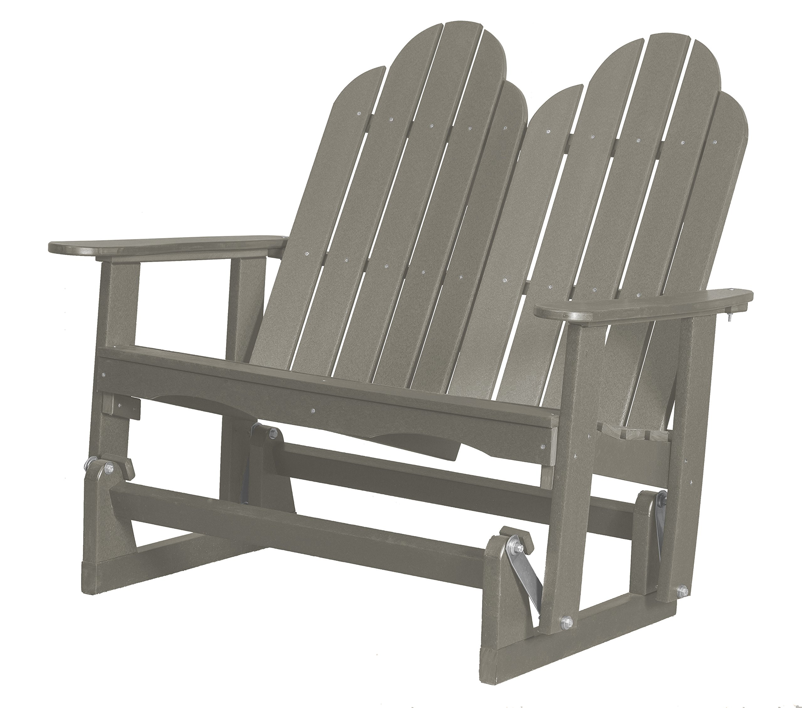 Little Cottage Company Lcc-208 Classic Adirondack Glider, Light Gray by Little Cottage Company