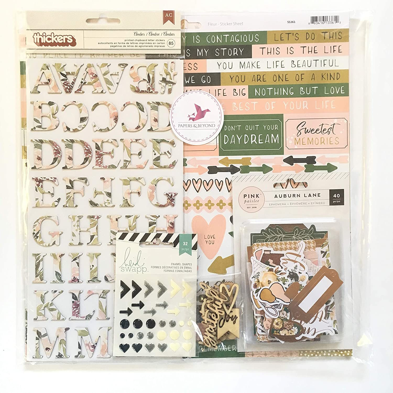 Scrapbook Kit 12X12in Sweet Blooms